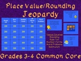 Common Core Rounding and Place Value TV Trivia Grades 3-4 Fun!!