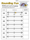 Common Core: Rounding to Nearest Ten & Hundred