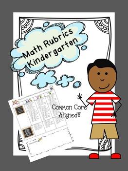 Common Core Rubrics Math - Kindergarten