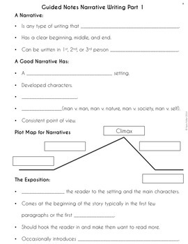 Narrative Writing Unit: Short Stories, Literacy Narratives, and Memoirs