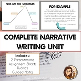 Narrative Writing Unit Bundle: Short Stories, Literacy Narratives, and Memoirs