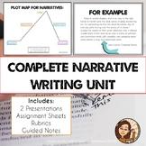 Narrative Writing Unit Bundle: Short Stories, Literacy Nar