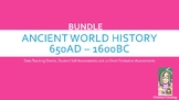 Ancient World History Mastery Bundle: Assessments and Tracking