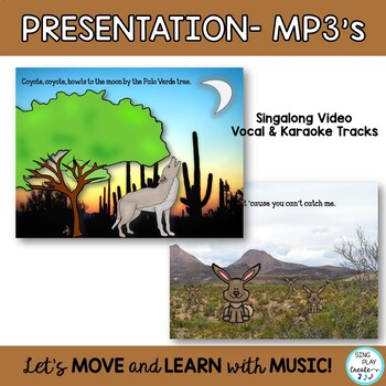 "Desert Song: ""Coyote, Coyote"" Science, Music and Literacy Activities"