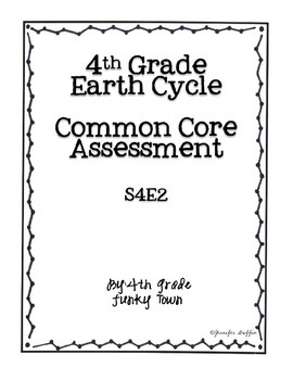 Common Core: Science Standard: Earth Cycle Common Assessment