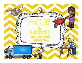 Common Core: Science Standard: Force and Motion