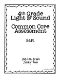 Common Core: Science Standard: Light and Sound Common Assessment