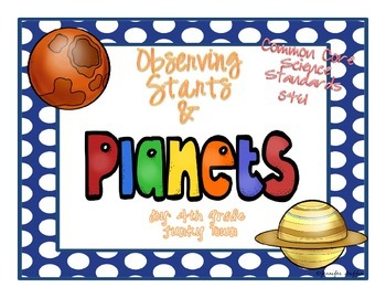 Common Core: Science Standard: Observing Stars and Planets