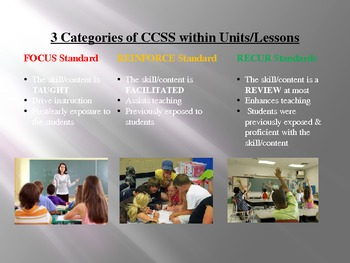 Common Core Scope & Sequence Overview Power Point