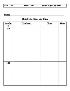 Common Core Second Grade 2.NBT.1-9 Math Menus