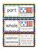 Common Core Second Grade Envision Math Vocabulary Cards