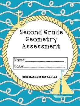 Common Core Second Grade Geometry Test