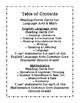 Common Core Second Grade I Can Statements-ELA & Math-Chalk