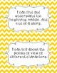 Common Core Second Grade I Can Statements-ELA & Math-Chevr