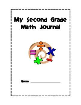 Common Core Second Grade Math Journal Printables
