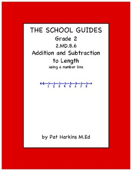 Common Core Second Grade Relating Addition and Subtraction to Length 2.MD.B.6