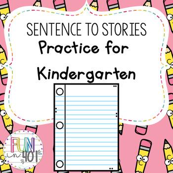 Common Core: Sentences to Stories!