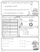2nd Grade Common Core: September Morning Seat Work Packet
