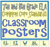 Common Core Seventh and Eighth Grade ELA Posters