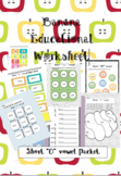 "Common Core Short "" o "" vowel Practice Packet"