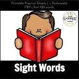 Kindergarten Common Core Sight Word Bundle