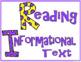 Common Core Sixth Grade ELA Posters (I can . . . ) Modern font