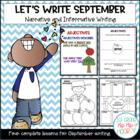 Let's Write...ELA CCSS