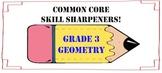 Common Core Skill Sharpeners: Grade 3 Geometry
