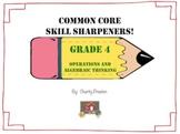Common Core Skill Sharpeners: Grade 4 Operations and Algeb