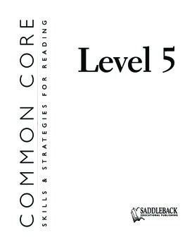 Common Core Skills & Strategies for Reading Level 5