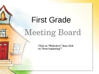 Common Core Smartboard for Calendar