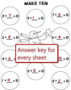 Common Core Snowball Math for Grades K-2