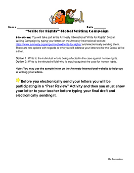 Common Core Social Justice Unit (Lesson Plans & Handouts)