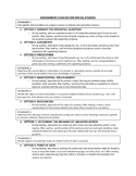 Common Core Literacy for Social Studies Assignments and Wr
