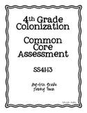 Common Core: Social Studies: Colonization Common Assessment