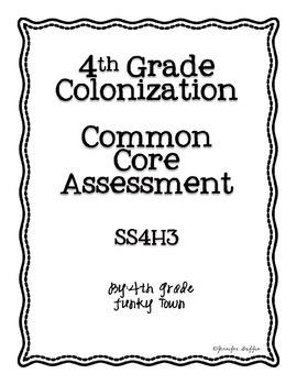 Common Core: Social Studies: Explorers Common Assessment