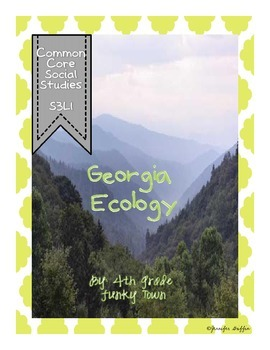 Common Core: Science: Georgia Ecology