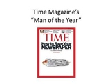 """Common Core Social Studies Lesson: """"Man of the Year"""" - Pre"""