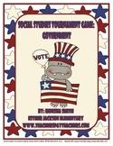 Common Core Social Studies: Social Studies Vocabulary Tournament Game-Government