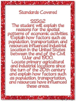 Common Core: Social Studies: Spatial Patterns
