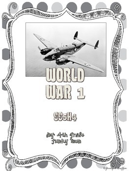 Common Core: Social Studies: World War I