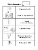 Common Core Speaking Checklist