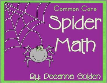 Common Core Spider Math