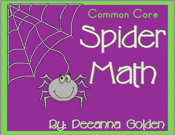 Common Core Spider Math