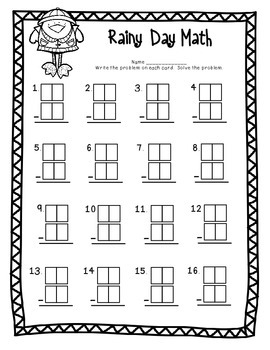 Common Core Spring Math Pack: First Grade