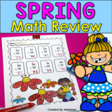 Spring Math Worksheets First Grade: Common Core Aligned