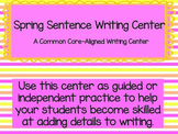 Common Core Spring Writing Center