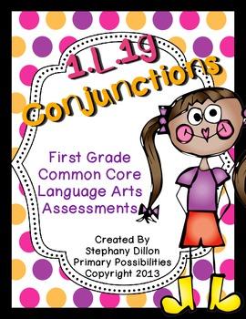 Common Core Standard Language Arts Assessment 1.L.1 (1.L.1g)