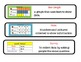 Common Core Standard Math Vocabulary for First Grade