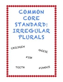 Common Core L.2.1b: Irregular Plurals